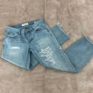Pacsun Boyfriend Distressed Jeans Size 24